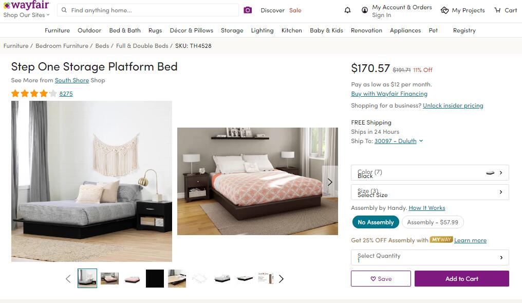 Most-Wanted Wayfair Finds Are All On Sale - Home furnishings!